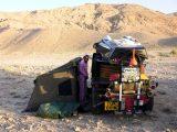 chitty in iran desert